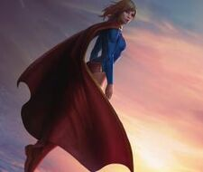 Supergirl concept art