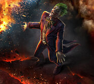 Infinite Crisis Joker Key Art