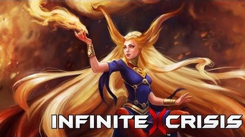 Champion Unmasked Arcane Supergirl