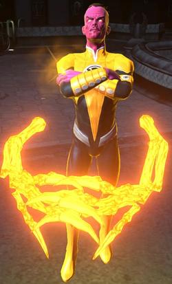 Sinestro character model