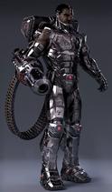 Mecha Cyborg Champion Idea Nelmamoohead