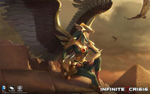 Armored Vigil Hawkgirl Skin Costume Art 1920x1200