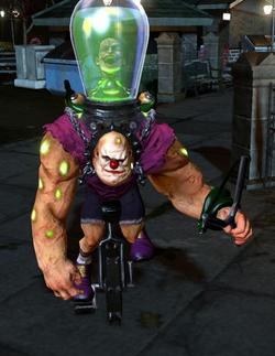 Atomic Joker Character Model