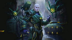 Lex Luthor Champion Art