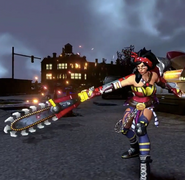 Atomic Wonder Woman character model infinite crisis