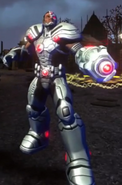 Cyborg character model 3