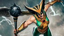 Hawkgirl art