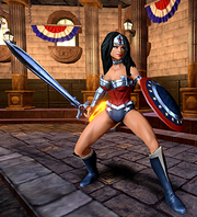 Wonder Woman character model