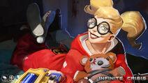 Slumber Party Harley Quinn Art Widescreen