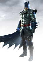 Character Idea Nelmamoohead Arcane Batman