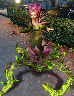 Atomic Poison Ivy character model