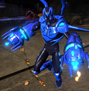Blue Beetle Character Model