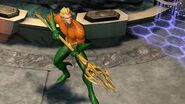 Aquaman in gameplay