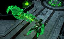 Shattered Light Atomic Green Lantern Skin Costume Gameplay