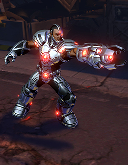 Cyborg Character Model 2 cropped