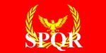 Flag Roman Empire
