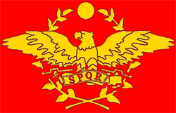 Flag Roman Republic