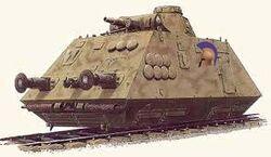 New Greek Armoured Train