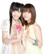 Mayu watanabe and yuko oshima render by tsundereforever-d798xvb
