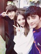 Snsd seohyun exo chanyeol jiang chao (1)