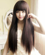 Free-Shipping-Sexy-Extra-Long-Wig-Girl-Straight-OL-Full-Wigs-Lady-Woman-Hair-Natural-Fake