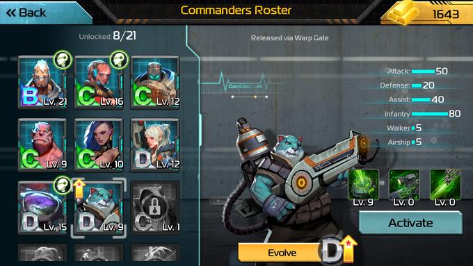 AoW CommanderEvolve