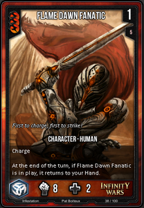 Flame Dawn Fanatic