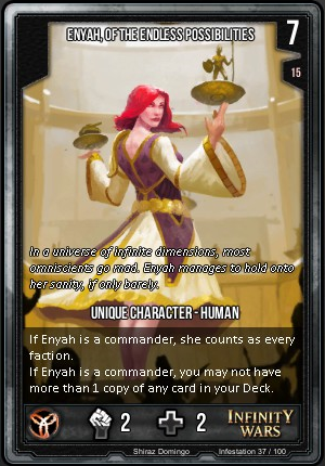 INFESTATION- Enyah, Of The Endless Possibilities
