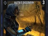 Aleta's Discovery