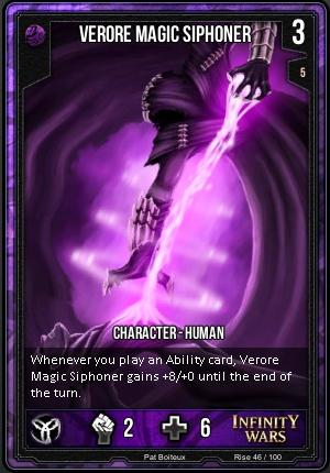 RISE- Verore Magic Siphoner