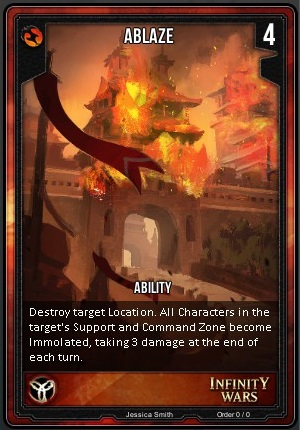 ORDER- Ablaze T