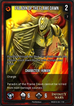 CORE- Paladin Of The Flame Dawn