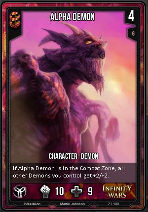 INFESTATION- Alpha Demon