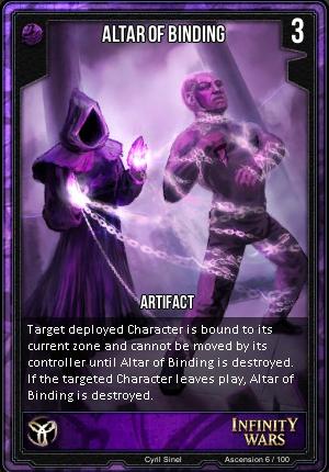 ASCENSION- Altar Of Binding