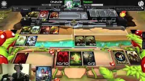Infinity Wars Constructed Warpath vs Theokon