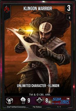 Klingon Warrior Infinity Wars Wiki Fandom Powered By Wikia