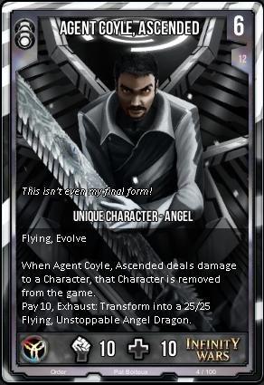 ORDER- Agent Coyle, Ascended