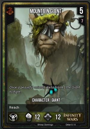 ORDER- Mountain Giant T