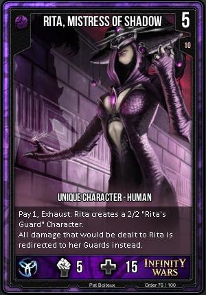 ORDER- Rita, Mistress Of Shadow