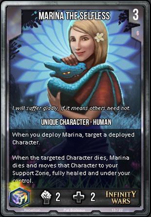 REBELLION Marina the Selfless