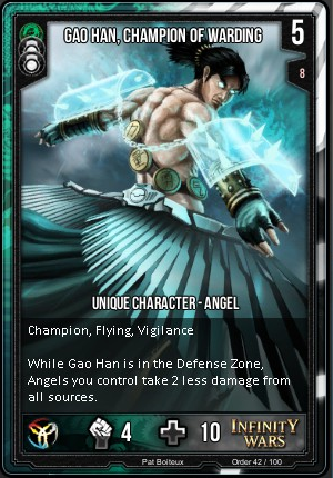 ORDER- Gao Han, Champion Of Warding