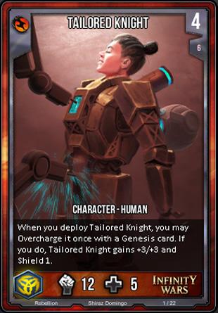 REBELLION Tailored Knight