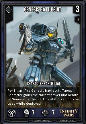 ORDER- Genesis Battlesuit