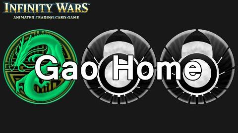 Infinity Wars - Decks - Gao Home
