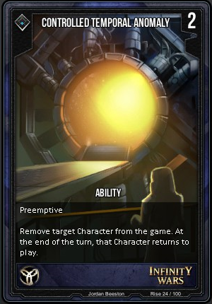 RISE- Controlled Temporal Anomaly