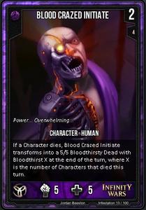 Blood Crazed Initiate