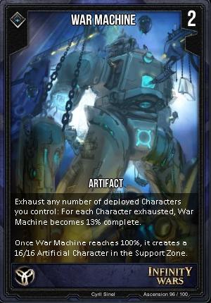 ASCENSION- War Machine