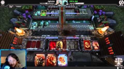 Infinity Wars Shoutcast Agrivane vs Mik1o