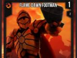 Flame Dawn Footman