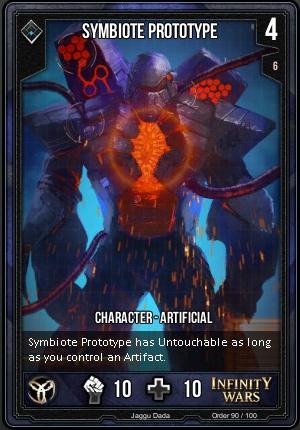 ORDER- Symbiote Prototype